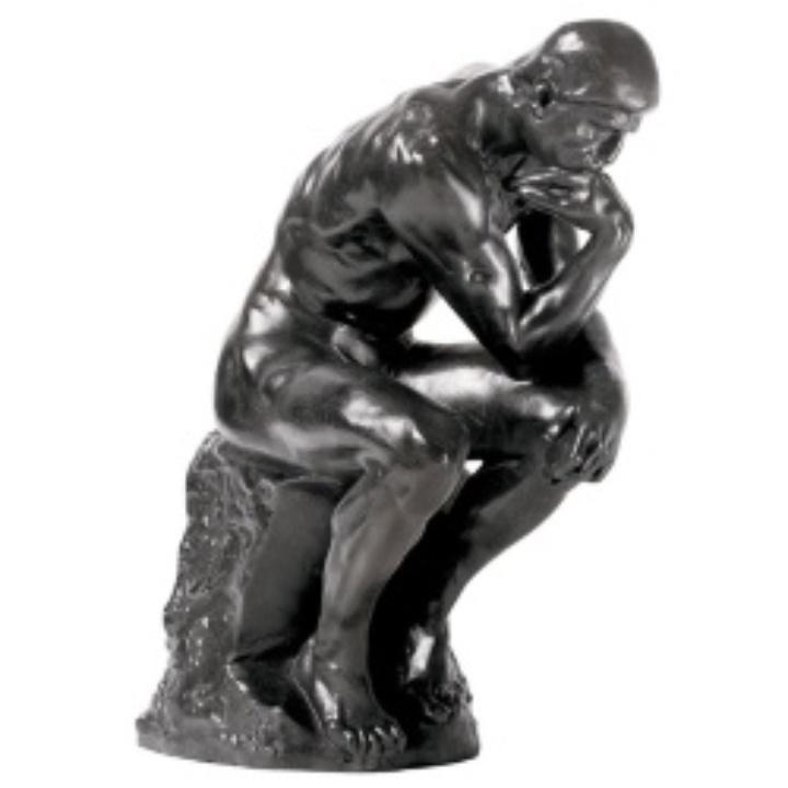 Statue des Denkers von Rodin (c)